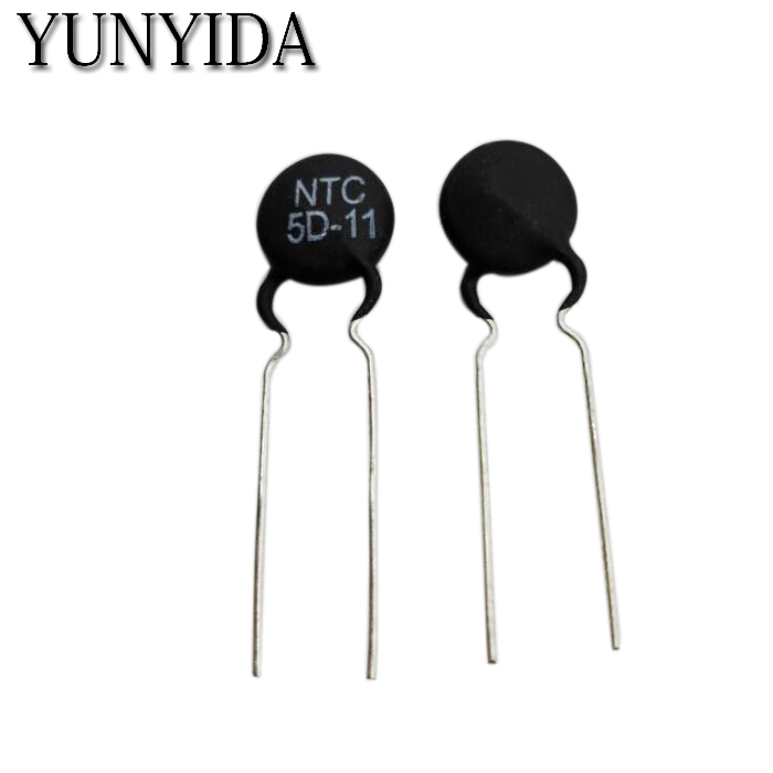 10pcs/lot  Thermal Resistor  NTC 5D-7 5D-9 5D-11  5D-15 5D-20 8D-20 10D-9 10D-11 10D-13 10D-15 10D-20 10D-25 47D-15 Free Shippng