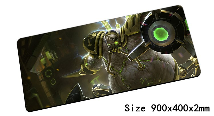 new Urgot mouse pad 90x40cm pad mouse lol notbook computer mousepad Headsmans Pride gaming padmouse gamer laptop mouse mats