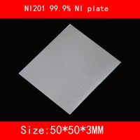 NI200 99.5% NI plate NI201 99.9% NI plate 50*50*1mm 2mm 3mm thick Electroplating / high purity nickel anode