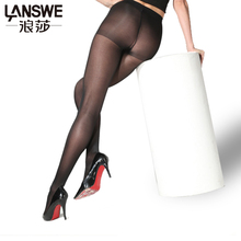 LANSWE 3pcs/lot EU SIZE Women 40D thin Pantyhose Sexy solid color Female tights Lady Slim  Brand Nylon Hosiery Stocking langsha