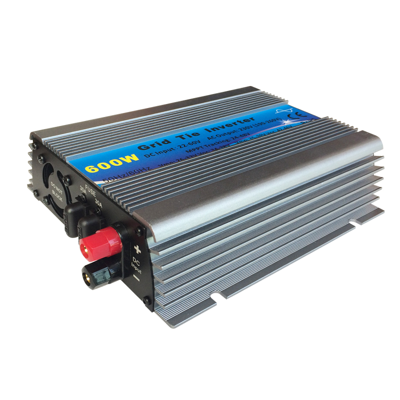600W Grid Tie Inverter 10.5-30VDC Input solar wind power inverter 180-260VAC or 90-140VAC output on grid tie inverter free shipping 600w wind grid tie inverter with lcd data for 12v 24v ac wind turbine 90 260vac no need controller and battery