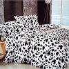 100 Cotton New Arrival Fashion Pattern Black And White Bedding Set Bed Clothes 3pcs Bed Set