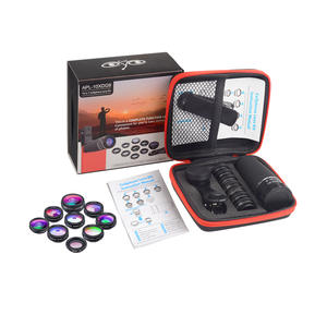 APEXEL STAR-FILTER Macro-Lens Fisheye-Lens Wide-Angle Telephoto All-Smartphones for 24pcs/Lot