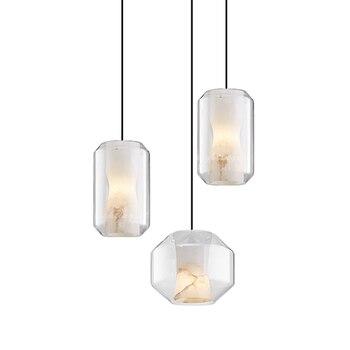 Moderne Nordic FÜHRTE Anhänger Licht für Wohnzimmer Dinging Raum Kreative Neuheit Leuchten Schnur Vintage Design Hängen Lampe