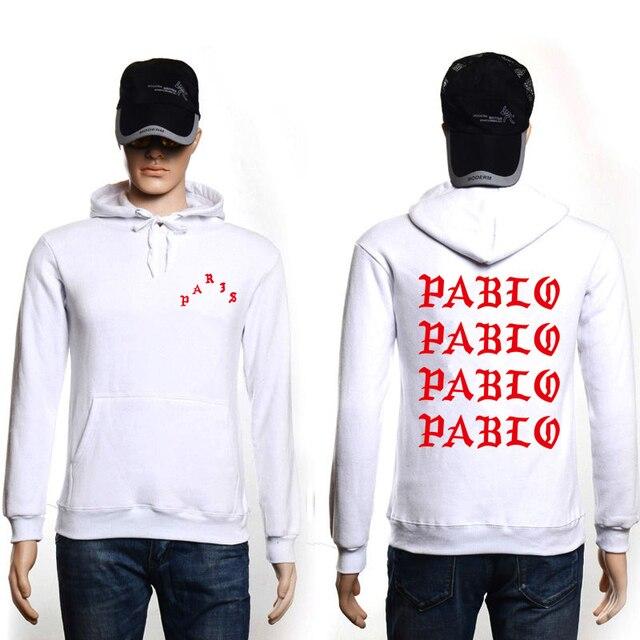 Fashion Professional Dropshipping Hip Hop Hoodies Men I Feel Like Pablo Streetwear Hoodie Sweatshirts Men Women Rapper Pullover 2