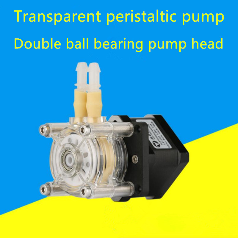 Stepper motor large flow anti-corrosion peristaltic pump 1m pipe stepper motor large flow anti corrosion peristaltic pump 1m pipe