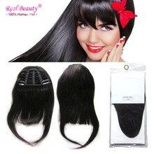 100% Human Hair Bangs Fringe 25g Clip In Flequillos Natural Franja Cabelo Humano Bangs Human-Hair-fringes human hair fringe
