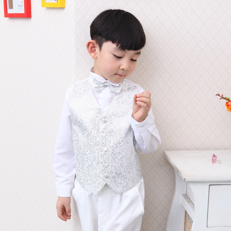wedding communion toddler suits for boys white formal tuxedo suit ...
