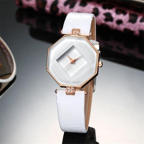 high-quality 2017 new 5color jewelry watch fashion gift table women Watches Jewel gem cut black geometry quartz wristwatches Multan