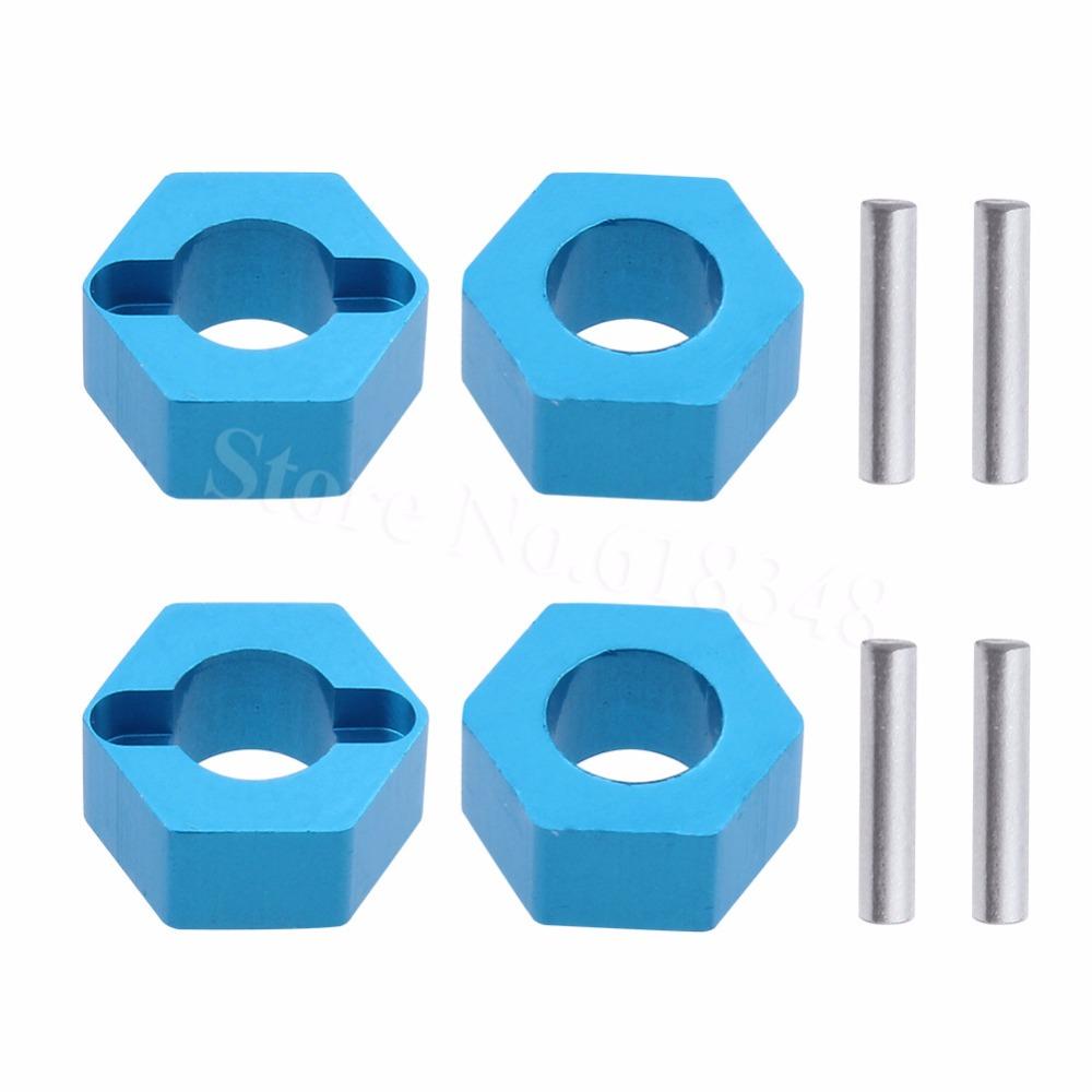 Details about  /1:10 Hexagon Wheel Axle Combiner Set RC Car DIY Screws For A959 A969 A 979 A989