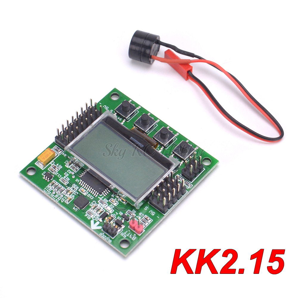 KK2.1.5 KK 2.15 LCD Multirotor Flight Control Board KK2.1.5 For KK2 6050MPU 644PA F450 F550 FPV RC Racing Drone