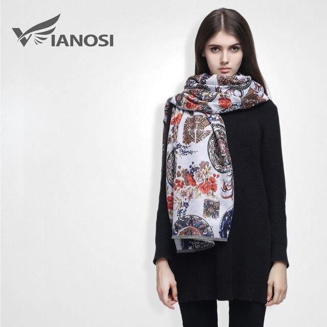 [ VIAONS ] 2015 модныйбрендшелковый шарфженщины высокое качество кашемир шарф цифровая печать бандана зимний шарфы женские платок  VS018
