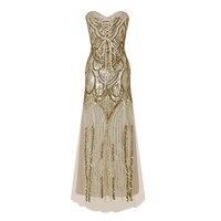 Women S 20s Style Shining Flapper Dress 1920s Vintage Gatsby Great Gatsby Charleston Sequin Tassel Party