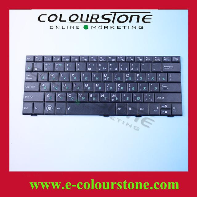 Ru negro teclado del ordenador portátil para asus eee pc eeepc 1005ha 1008ha 1008 1001 1005 teclado 9j. n1q82.301