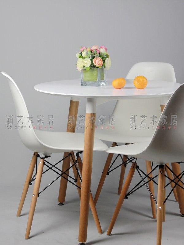 Negociaciones mesa, madera maciza mesa de comedor pequeña mesa de ...