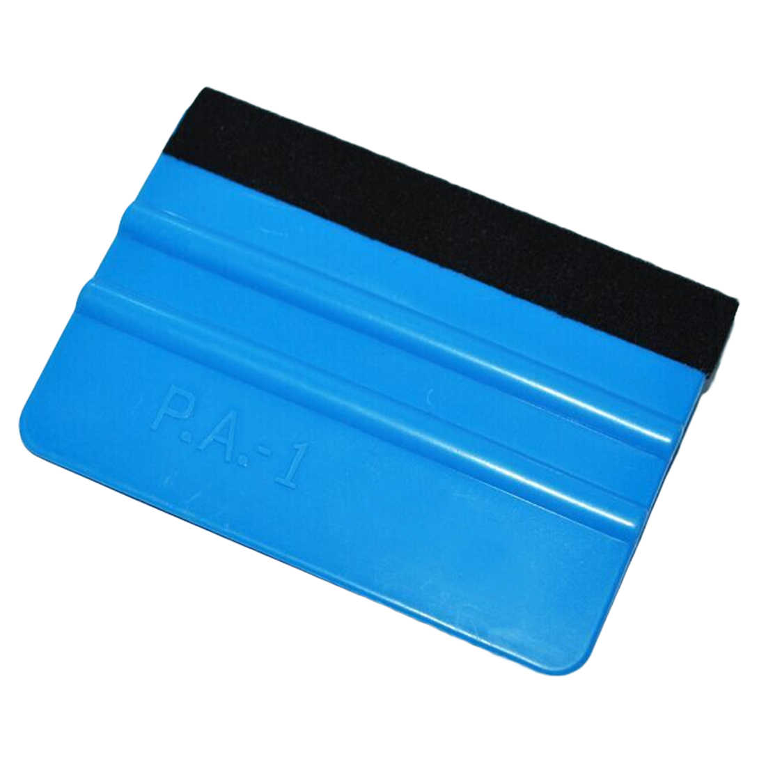 Felt Squeegee Vinyl Car Wrap Tool Carbon Fiber Foil Vinyl Scraper Window Tint Tools Car Glass Cleaning Tool Brush