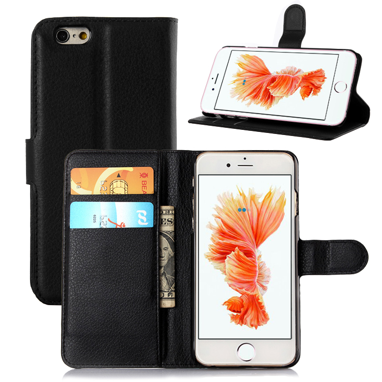 Flip Wallet Stand PU Leather For <font><b>iPhone</b></font> 6 <font><b>6S</b></font> <font><b>Plus</b></font> Back Cover <font><b>Case</b></font> For Apple <font><b>iPhone</b></font> 6 <font><b>6S</b></font> <font><b>Plus</b></font> 5.5 Inch <font><b>Phone</b></font> Bag <font><b>Cases</b></font> Shells