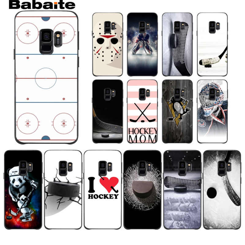 Ice Rink Hockey Personalizado Foto Macio Case capa Do Telefone Para Samsung Galaxy s9 s7 s8 plus nota 8 note9 s6edge coque Babaite