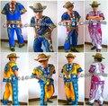 Африканская Одежда Riche Африканский Барабан Горячий Стиль Fashion Show Костюм Тайский Рубашка Национальной Ветер Дай Костюмы Мужчин И Детей