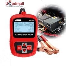Mehrsprachige Autobatterie Tester 12 V ANCEL BST200 Autobatterie Analyzer 1100CCA Erkennen Schlecht Zelle Batterie Diagnosewerkzeug