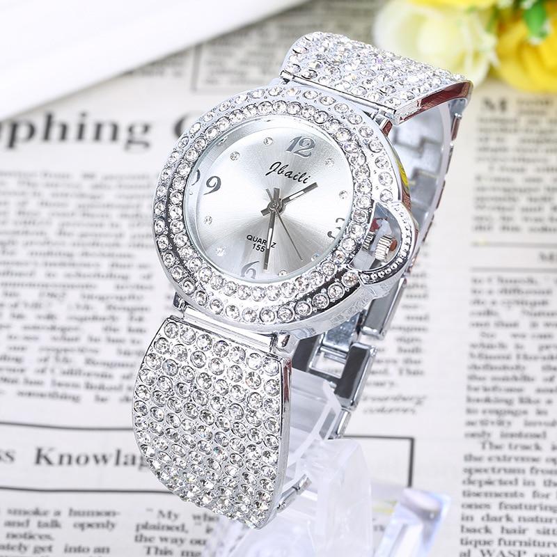 JBAILI 2017 Fashion Women Watches Brand Famous Quartz Watch Female Clock Ladies Wristwatch Montre Femme Hodinky Relogio Feminino