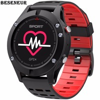 Beseneur F5 Smart Watch Sleep Tracker Altimeter Thermometer Sport Bluetooth 4.2 Smartwatch Wearable devices for iOS Android
