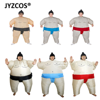 Fan Operated Inflatable Sumo Costume Suit Outfits Halloween Costume For Kids Party Christmas Gift