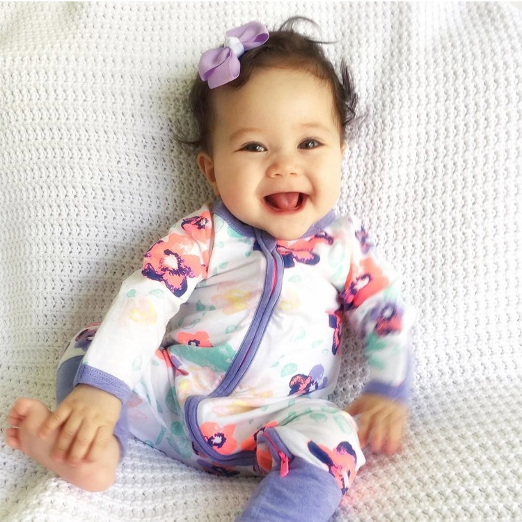 60a85e462 Detail Feedback Questions about 2018 Spring long sleeve Rompers baby ...