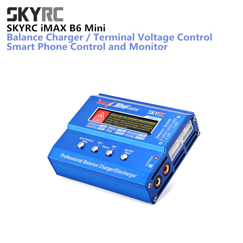 все цены на Original SKYRC IMAX B6 mini 60W Balance Charger 5W Discharger for RC Helicopter nimh nicd Aircraft Intelligent Battery Chargers онлайн