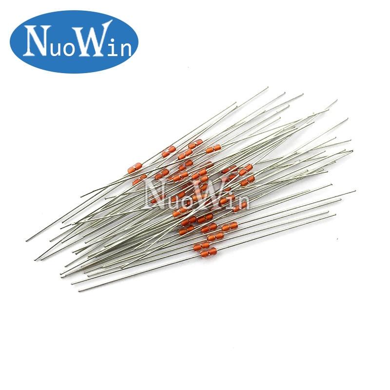 //-1/% US STOCK 50pcs Thermistor Temperature Sensor NTC MF58 3950 B 103F 10K ohm