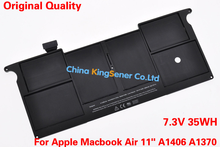ФОТО Original Quality New Laptop Battery for Apple Macbook Air 11