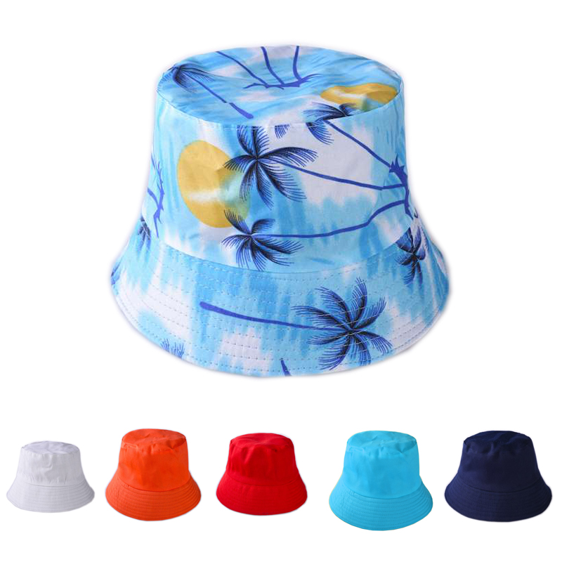 fc2057d5f0bb92 Unisex Solid Color Bucket Hats Shading Flat Caps Outdoor Fishing Hunting  Fisherman Sunscreen Casual Folding Cap