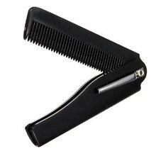 Высокое качество 1 шт Мужская Женская Красивая Ручная Складная карманная заколка расческа для усов и бороды борода инструмент для укладки