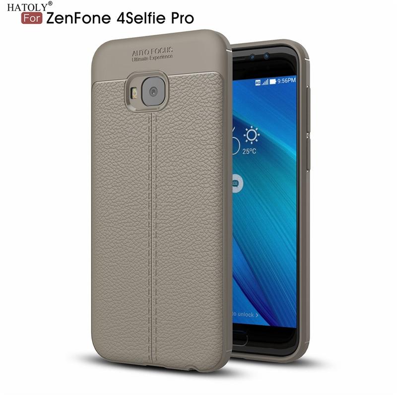 Cuir Bleu Foncé Étui En Silicone Pour Asus Zenfone 4 Selfie QiXe6H9uZ