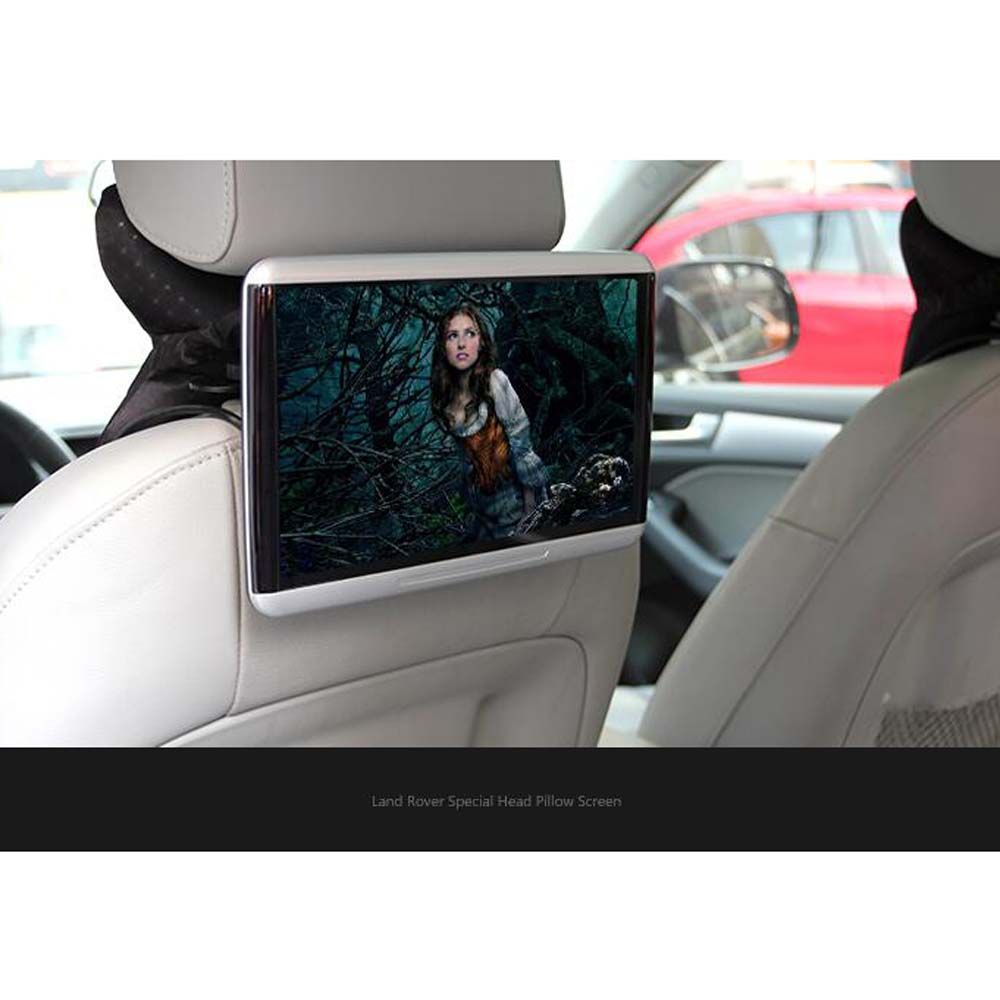 Car Head Pillow Screen Multimedia Entertainment Headrest Monitor For Land Rover