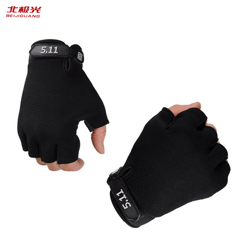Body Building Tactical Gloves Men Women Half Finger Army Military Outdoor Sports Gym Training Cycling Soft Fingerless Gloves 511
