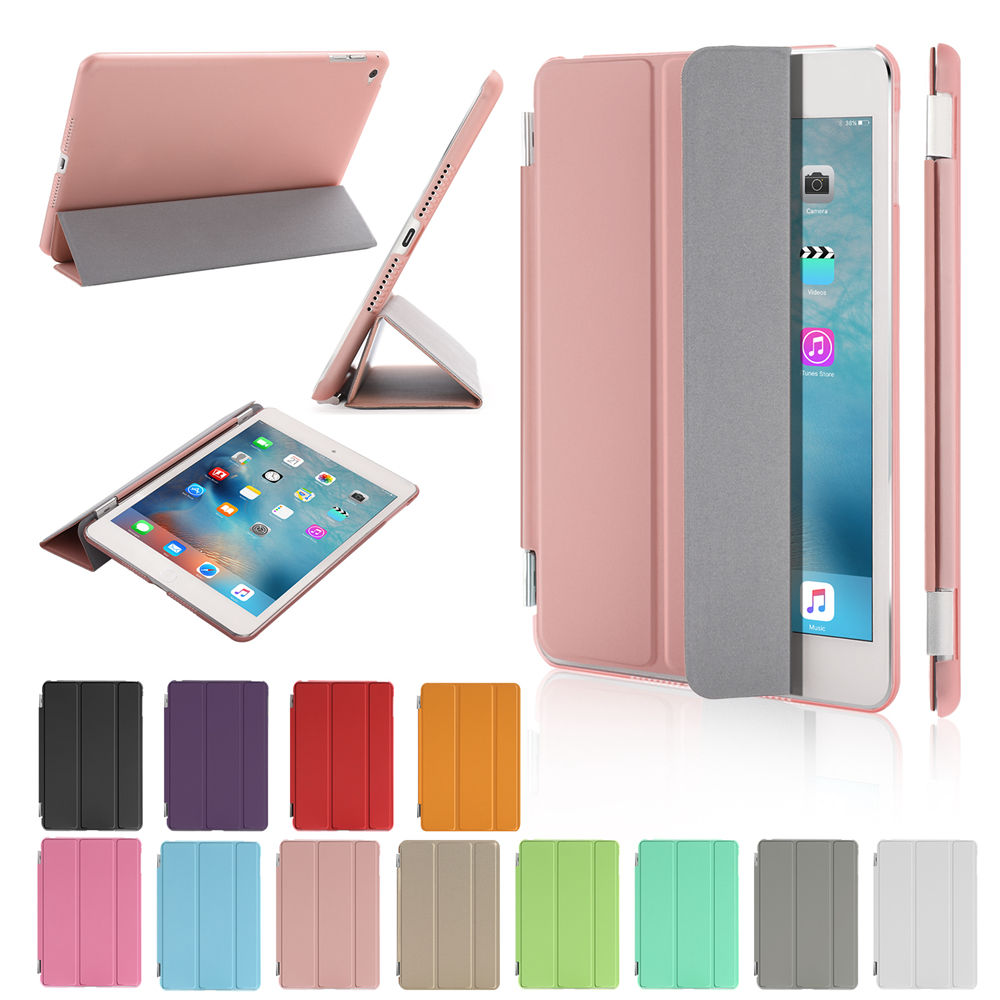 Official Smart Case For iPad Mini 3 2 1 VKUES PU Leather Cover Auto Sleep protective shell for apple ipad mini1 mini2 mini3