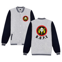 BOPE Men Women Baseball Clothing Brazil Police Team Logo Printing Tops Autumn Spring Plus Cashmere Jacket