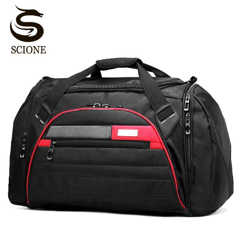 Waterproof Travel Bag Men Male Multifunction Shoulder Crossbody Bags Large Capacity Storage Portable Travel Handbag Duffel Bags