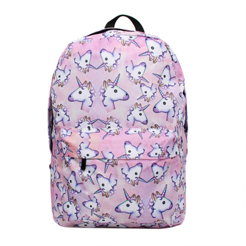 3pcs Unicorn Backpack Shoulder Drawstring Bags For Teenage