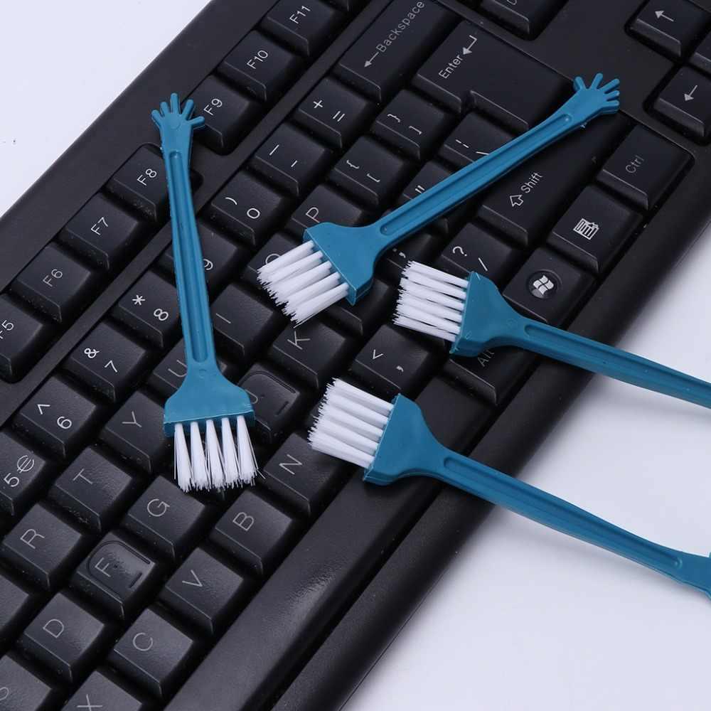 Mini cepillo de limpieza de escoba de escritorio, herramienta de barrido, escritorio, teclado de ordenador, Ventilación de coche, oficina, herramienta de limpieza de ordenador