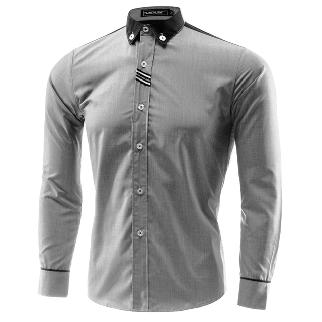 a939d4ed1ff Men Dress Shirt Hawaii Casual Camisa Slimming Social Masculina Para Hombre  Vestir Brand Clothing Chemise Vetement