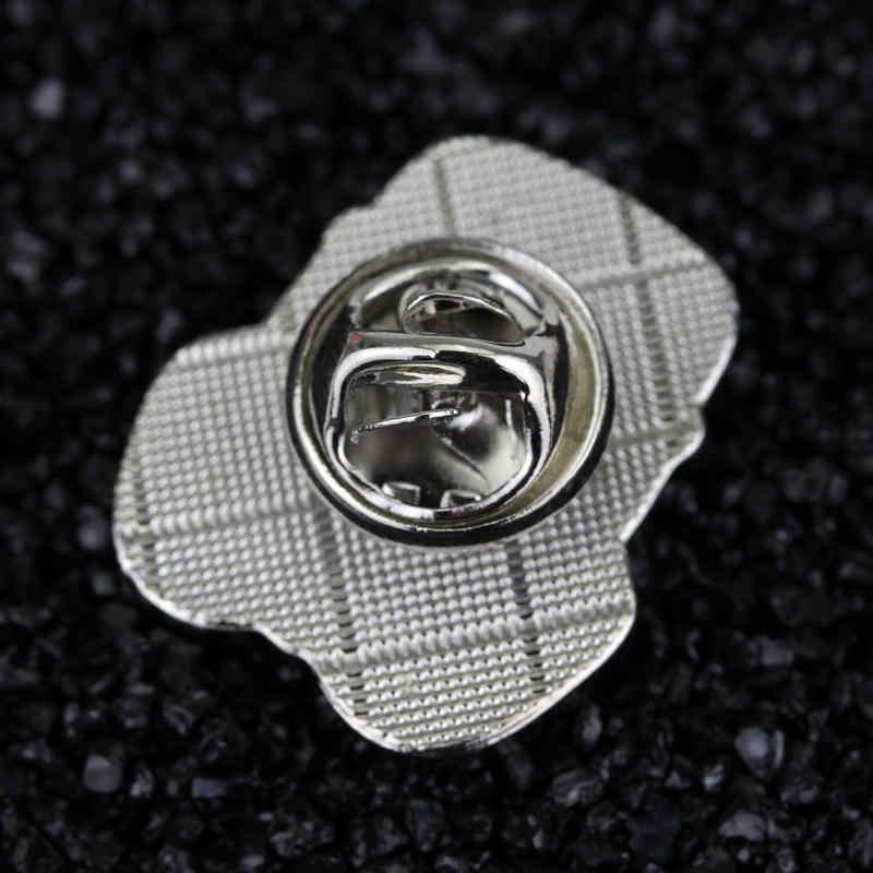 HEYu Новая мода броши фильм «Звездные войны» фильм маска Штурмовик воин шлем штурмовика игровой значок нагрудные значки