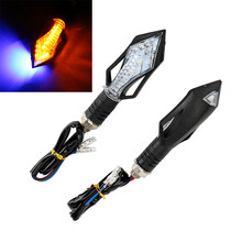 ITimo 1 Pair Motorcycle Turn Signal Lamp Flasher Blinker Brake Light LED Turn Light Motorcycle Accessories Cornering Lamp(China)
