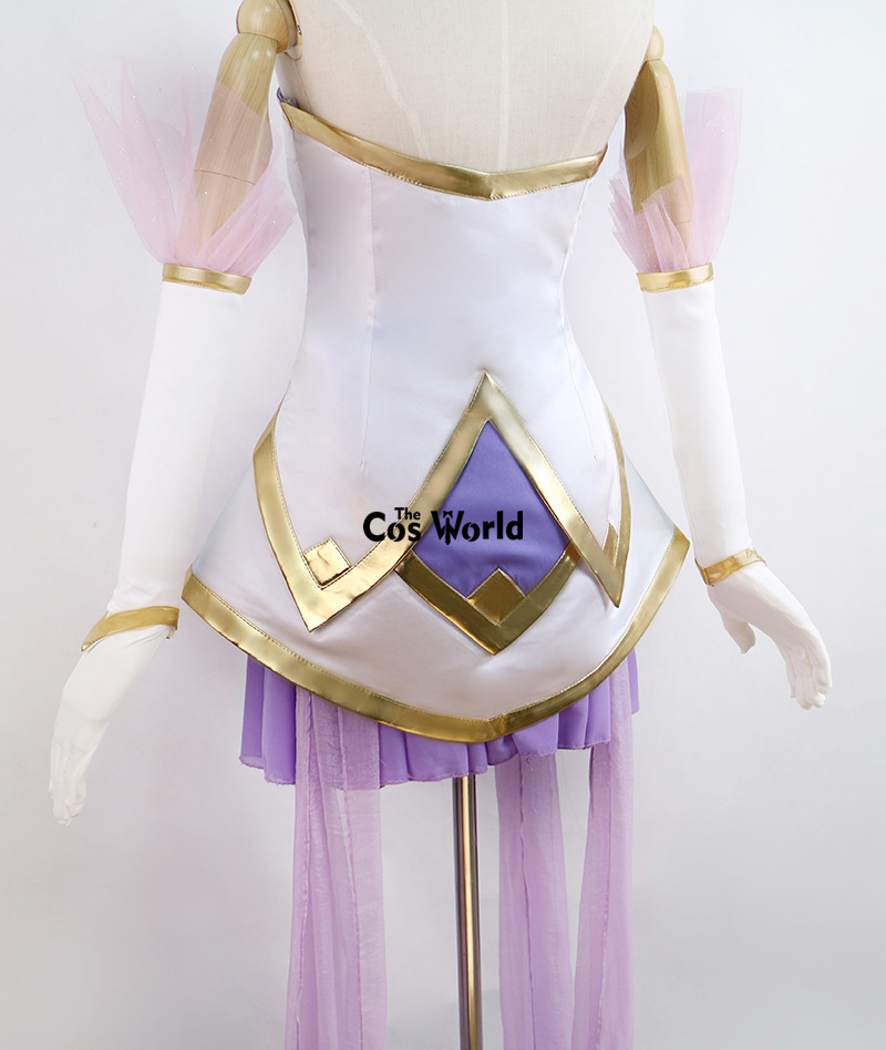 LOL Star Guardian Janna The Storm's Fury Cannon Dress Uniform Outfit Cosplay Costumes