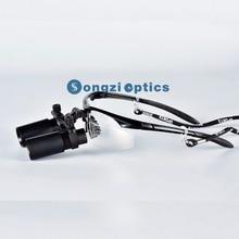 Высокое качество(5X, 6X опционально) Черная Спортивная оправа Бинокулярные Медицинские Хирургические лупы для хирургии