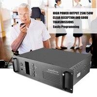УКВ портативной taklie повторителя 50 Вт 100ch SOCOTRAN MD 8500 136 174 мГц двухстороннее радио базовой станции DMR и аналоговый повторителя с двусторонней пе