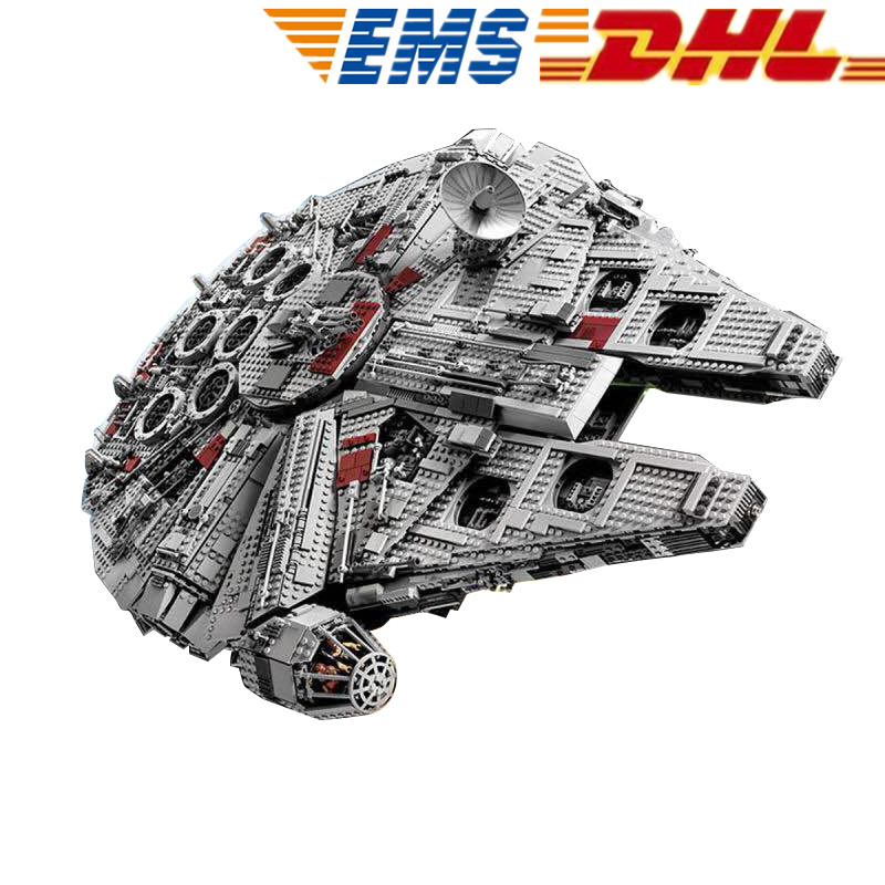 MTELE Star Wars Ultimate Collector's Millennium Falcon Building Block Figure Compatible With Lego 10179 Lepin 05033 new 5265pcs star wars ultimate collector s millennium falcon model building kits blocks bricks kids toys compatible with 10179