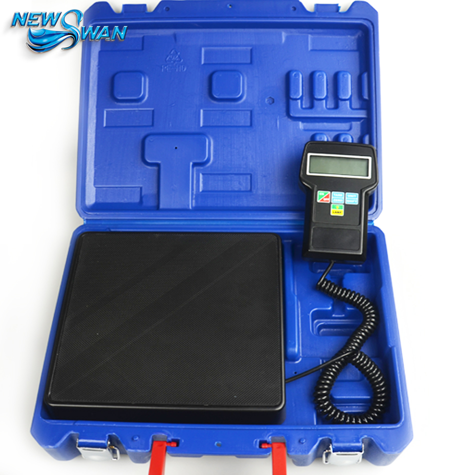 RCS 7040 Electronic Refrigerant Charging Scale Refrigeration Electronics Precision Calibration Weighing Scale