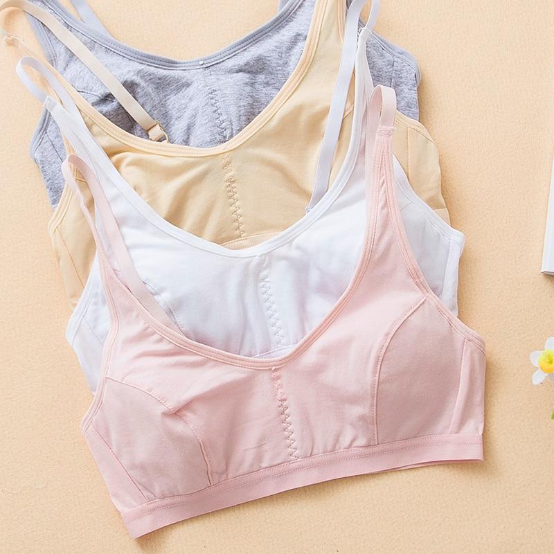 Cotton vest 10-11-12-13-year-old girl underwear junior